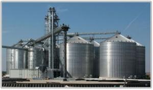 Commercial Grain Bin System