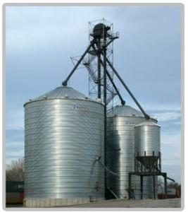 Stiffened Grain Bin System
